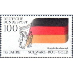 Germany 1990. National colors