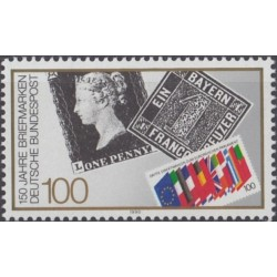 Vokietija 1990. Pašto...