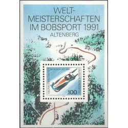 Germany 1991. Bobsleigh