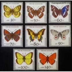 Germany 1991. Butterflies
