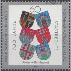 Vokietija 1991. Miestų herbai