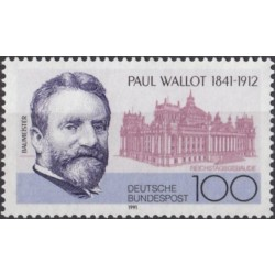 Germany 1991. Paul Wallot...