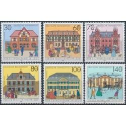 Germany 1991. Post buildings