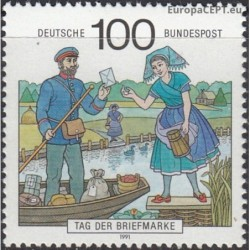 Germany 1991. Stamp Day