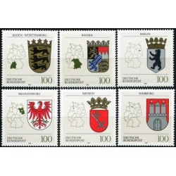 Germany 1992. Coats of arms