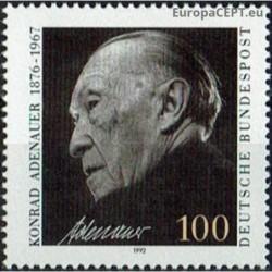 Germany 1992. Konrad Adenauer