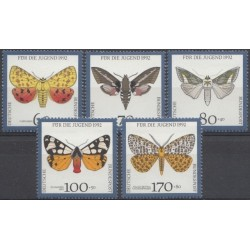 Germany 1992. Insects (moths)