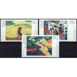 Germany 1992. Paintings