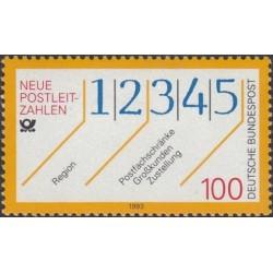 Germany 1993. Postal codes
