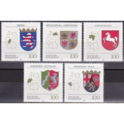 Germany 1993. Coats of arms