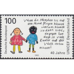 Germany 1993. German UNICEF