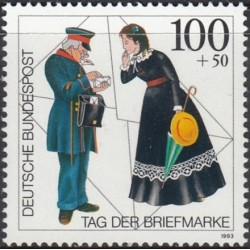 Vokietija 1993. Pašto...
