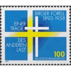 Vokietija 1993. Švedų teologas