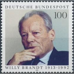 Germany 1993. Willy Brandt...