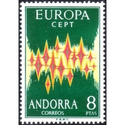 Andora (isp) 1972. Europa CEPT