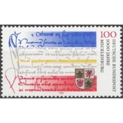 Germany 1995. 1000 years...