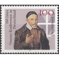 Germany 1995. Catholic priest