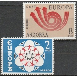 Andora (isp) 1973. CEPT:...