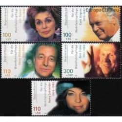 Vokietija 2000. Kino aktoriai