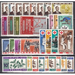 Rwanda. Set of new stamps...