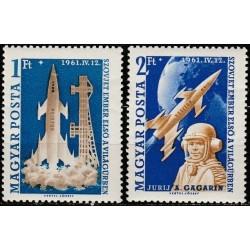 Vengrija 1961. J.Gagarinas