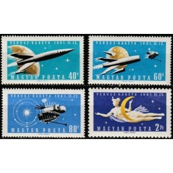 Hungary 1961. Space...