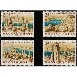 Vengrija 1961. Budapešto...