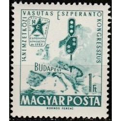 Vengrija 1962. Esperanto...