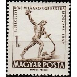 Vengrija 1962. Skulptūra