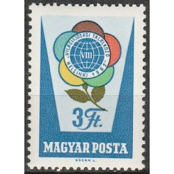 Hungary 1962. World Youth...