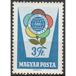 Vengrija 1962. Pasaulio...