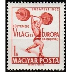Vengrija 1962. Sunkioji...