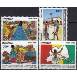 Rwanda 1990. National...