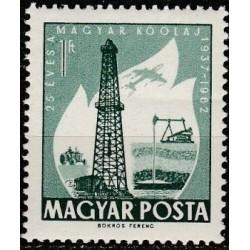 Vengrija 1962. Naftos pramonė