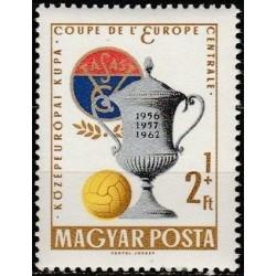 Vengrija 1962. Futbolas
