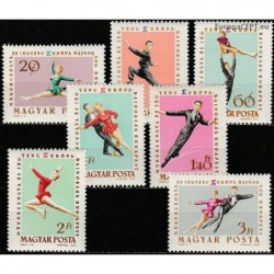 Hungary 1963. Figure skating
