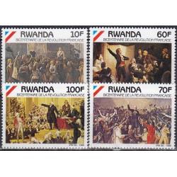 Rwanda 1990. French revolution