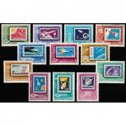 Hungary 1963. Stamps on...