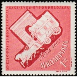 Hungary 1963. Post history