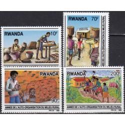 Ruanda 1989. Profesijos