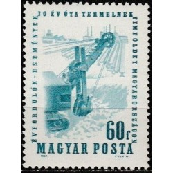 Hungary 1964. Mining industry