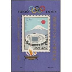 Vengrija 1964. Tokijo...
