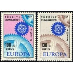 Turkija 1967. CEPT:...