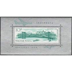 Hungary 1964. Elisabeth Bridge