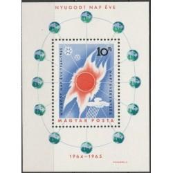 Hungary 1965. Astronomy