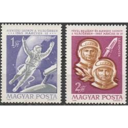 Hungary 1965. Cosmonauts