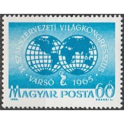 Vengrija 1965. Profsąjungos