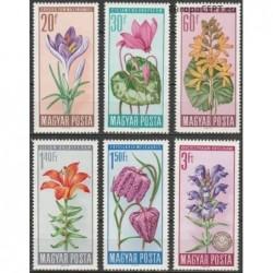 Vengrija 1966. Saugomi augalai