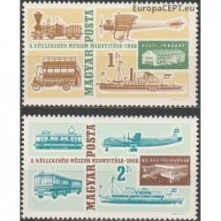 Hungary 1966. Transport