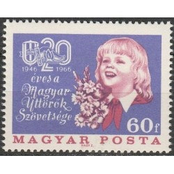 Vengrija 1966. Pionieriai